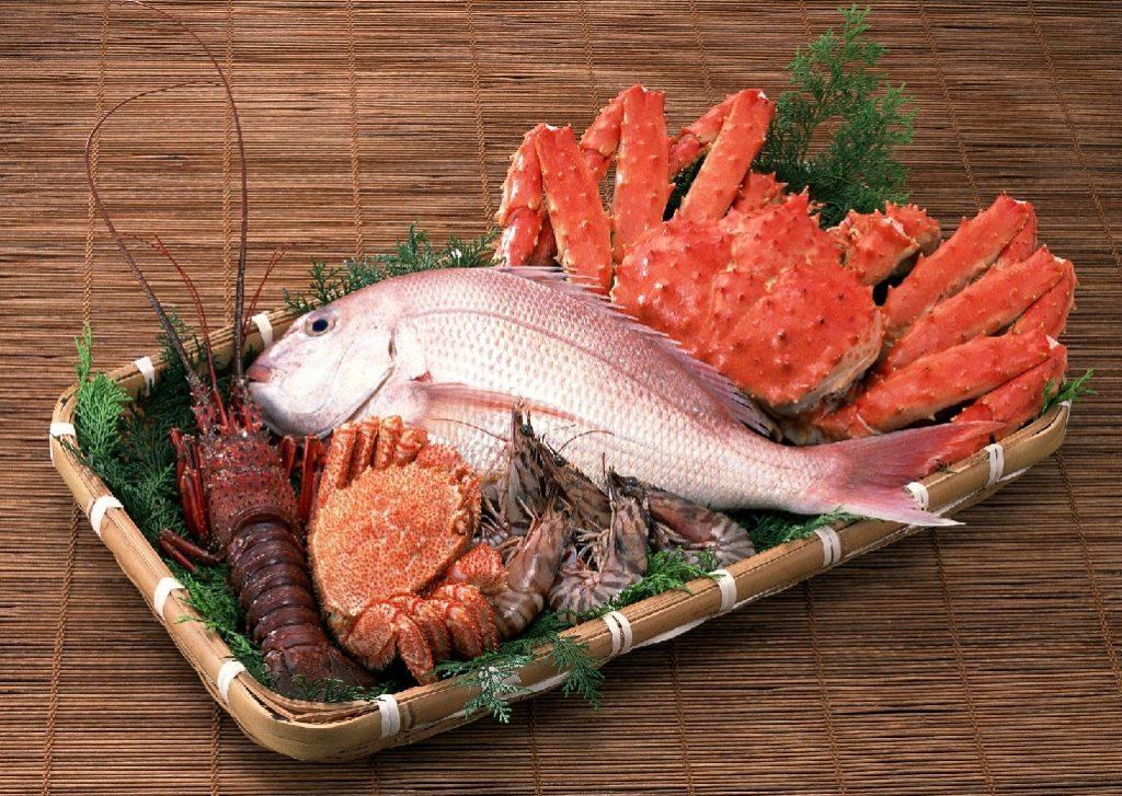 Содержание холестерина в морепродуктах: выведение и количество