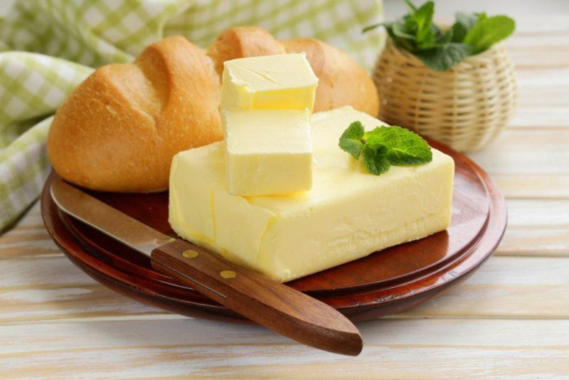 Сколько холестерина в сливочном масле?