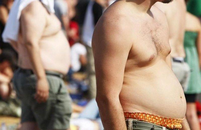 Как возникает ожирение у мужчин?